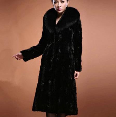 Vetement 2019 fourrure femmes hiver fausse fourrure artificielle Veste Manteau Furry Manteau Taille Femme Plus Furry Fausse Outwear Z216