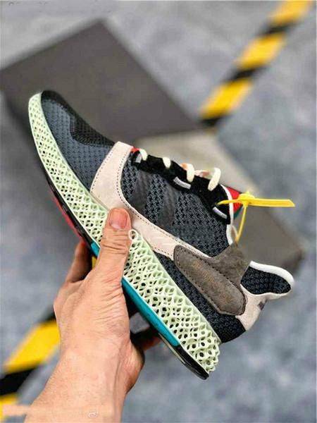 Super schöne Schuhe 4D Herren Sneakers für Frauen Consortium Runner Inv Fashion Designer Trainer ZX 4000 Outdoor