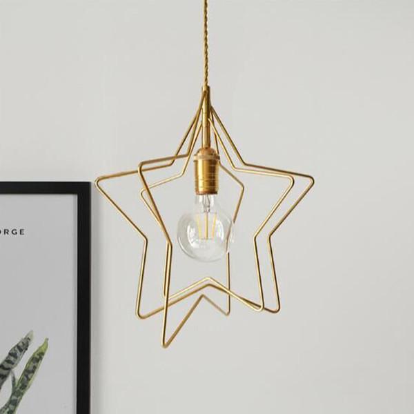 Nórdico Design Led Ouro Moderno Pingente Lâmpadas de Teto Luz Pendurada para Bar Loft Decoração Sala de Jantar Cozinha Sala de estar