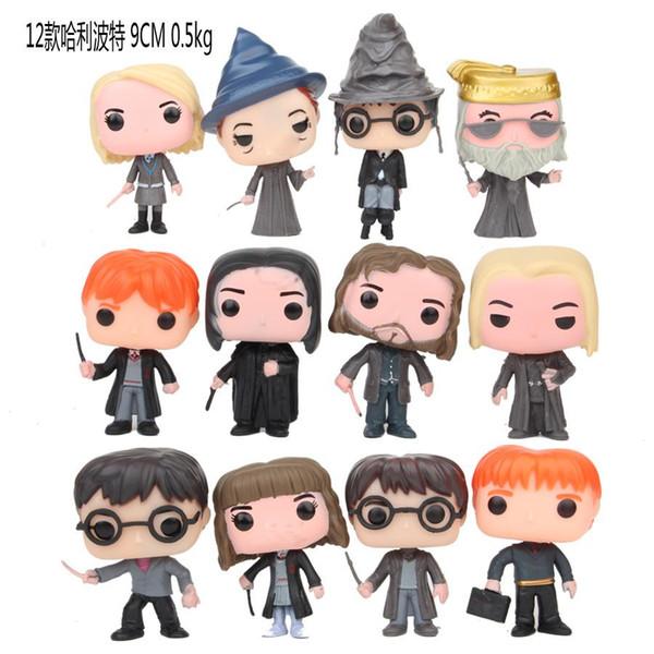 HOT 10p kümesi Funko POP Film Serisi Harry Potter, Ron Weasley Noel Balosu Versiyon yeni çocuk doğum günü festivali hediye oyuncak aksiyon figürleri