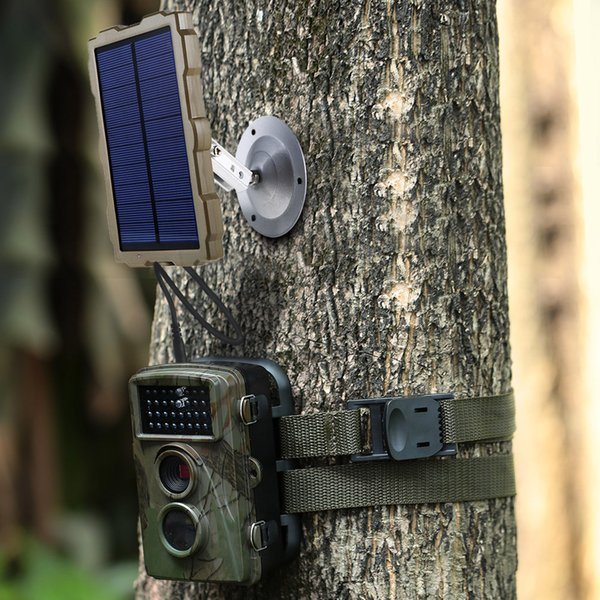 Outdoor Hunting Camera Battery Solar Panel Power Charger External Panel Power for Wild Camera Photo-traps H801 H885 H9 H3 H501
