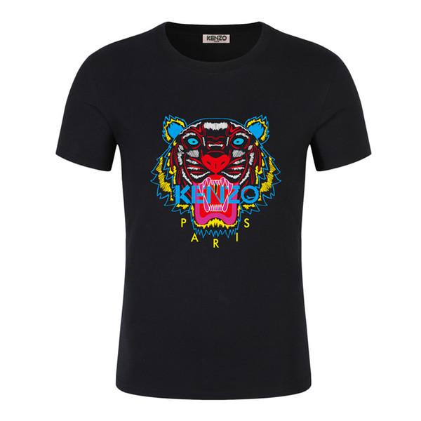 12T-Shirt Männer Street Top Tees Skateboard New Arrival 4size S-5XLLetter-Druck-T-Shirt 5coloKENZOr Herren T-Shirt