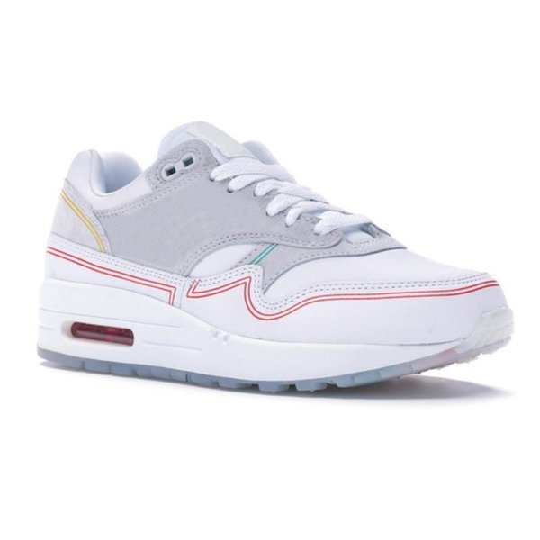 Brand New 1 Center Pompidou Designer Shoes 1s Mens Womens Running Shoes Pompidou Center Day Sneakers Size 36-45