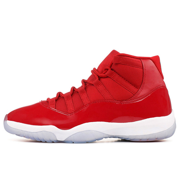 11s red