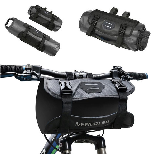 New 2019 Bicycle Front Tube Water Resistant Bag Bicycle Handlebar Basket Cycling Front Saddle Bags Accessories