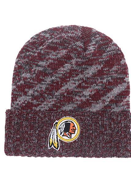 2019 New 1 Piece HOT Selling men Women Winter Fashion Beanies Brand Fans Baseball Cuffed Knit Caps redskins Skull Out Door Beanie Hats