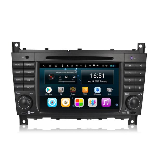 Android 7-дюймовый 8-ядерный для Mercedes Benz C класса W203 W209 2004-2007 Автомобильный мультимедийный плеер Радио WIFI Bluetooth GPS-навигатор Wifi головное устройство