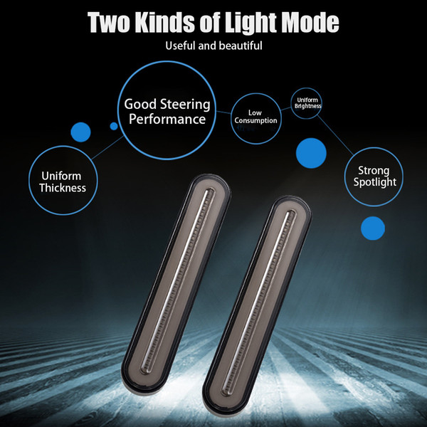 KKMOON 10-30 3 in 1 Neon Impermeabile 100 camion rimorchio LED della coda di arresto del freno Luce fluente Accendere Accessori auto Signal luce della lampada