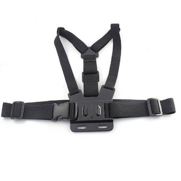 Chest Strap mount belt for Gopro hero 5 4 Action camera Chest Mount Harness for Go Pro SJCAM SJ4000 sport cam fix