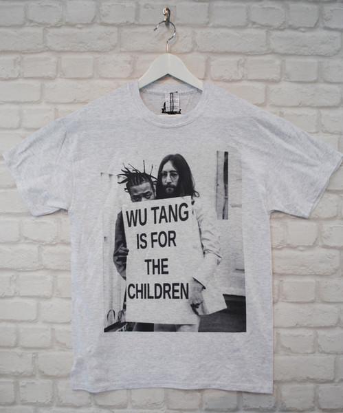 T-shirt en jersey de couleur pour t-shirt couleur jersey imprimé t-shirt ODB John Lennon Wu Tang
