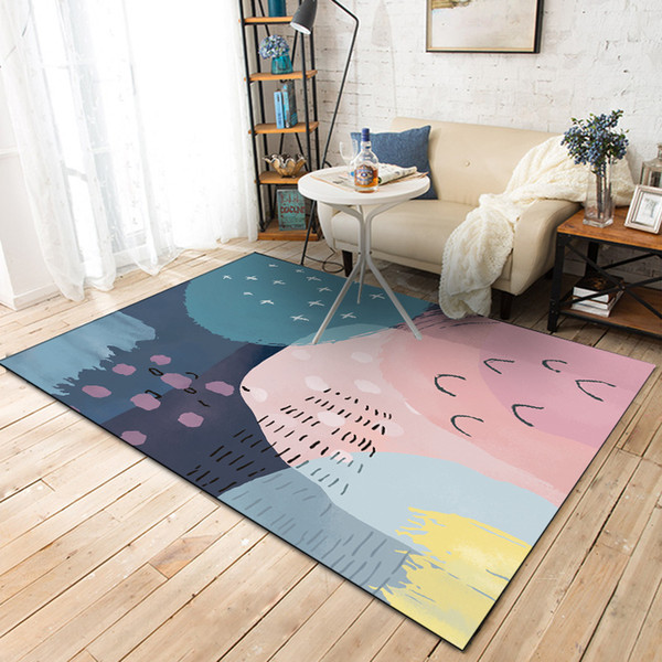 Acheter Style Nordique Salon Table Basse Tapis Tapis Creative Et Tapis Pour Le Salon Chambre Enfants Tapis De Chambre De 44 96 Du Pagoda Dhgate Com