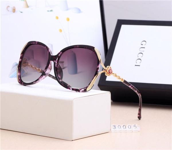 Designer de luxo oversized mulheres óculos de sol óculos De Diamante de moda famosa Óculos uv óculos polarizados com caixa GQ-2