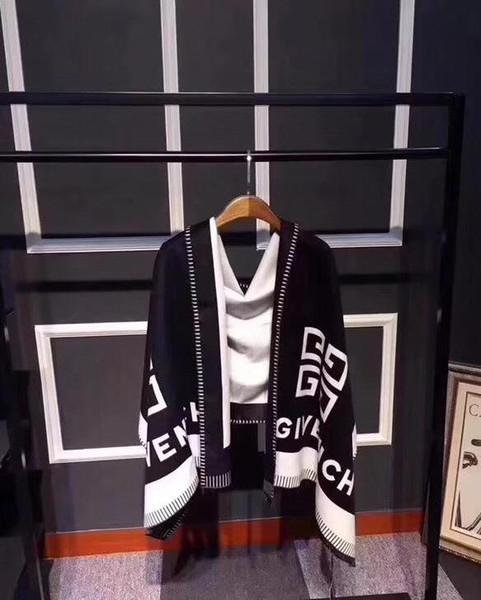 Designer écharpe en cachemire d'hiver bandeau Pashmina pour les femmes mode couverture chaude écharpes foulards cachemire coton foulard cadeaux 180x70cm