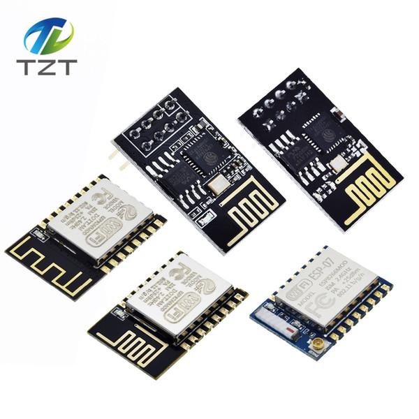TZT ESP8266 ESP-01 ESP-01S ESP-07 ESP-12 ESP-12E ESP-12F serial WIFI wireless module wireless transceiver For arduino