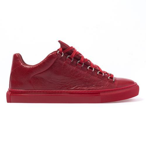 Envío libre Al por mayor-nuevo cuero genuino de los hombres zapatos casuales arena Bal * nci * ga 5 colores bajo top zapatos tamaño 38-47
