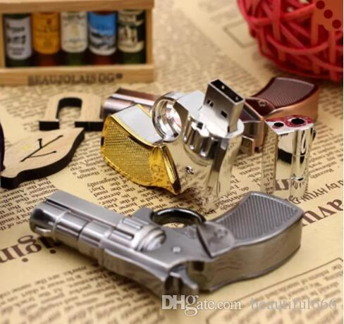 Brand New cool Pendrive Gun Shaped 16GB 32GB USB Flash Drive 16 32 64 GB Stick Flash Memory Disk Pen Drive