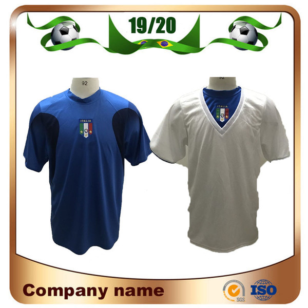 Copa do Mundo de 2006 Itália Edição Retro camisas de futebol Gattuso Cannavaro Del Piero Toni Totti Materazzi Camisa de Futebol 06 Italia uniforme de futebol