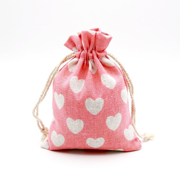 50pcs/lot 10x14cm Cotton Bags Small Drawstring Pouch Gift Bag Muslin Charms Sachet Goodies Jewelry Packaging Bags & Pouches