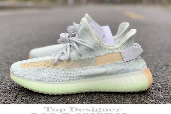 2019 Kanye West V2 500 Hommes Desinger Chaussures De Course Femmes Baskets Zebra Static Black Bred Crème Blanc Sésame Meilleur Sport Baskets Zapatos Id8