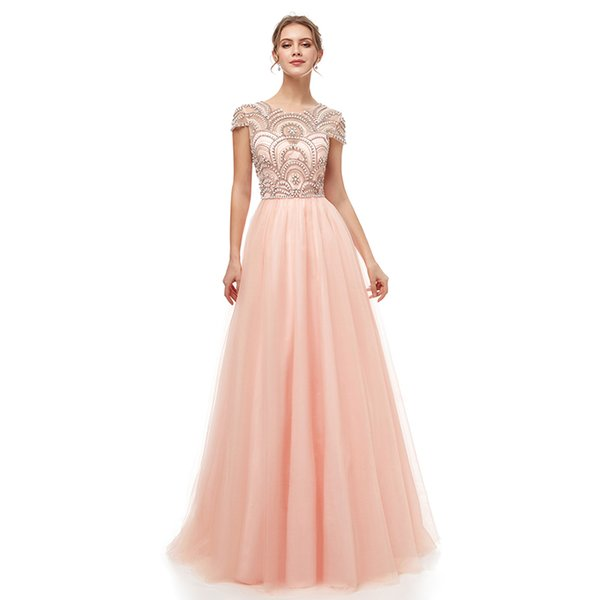 best selling Cheap Aline Homecoming Dresses 2020 Occasion Dress with Short Sleeves Homecoming Party Prom Gowns 100% Real Image 5222