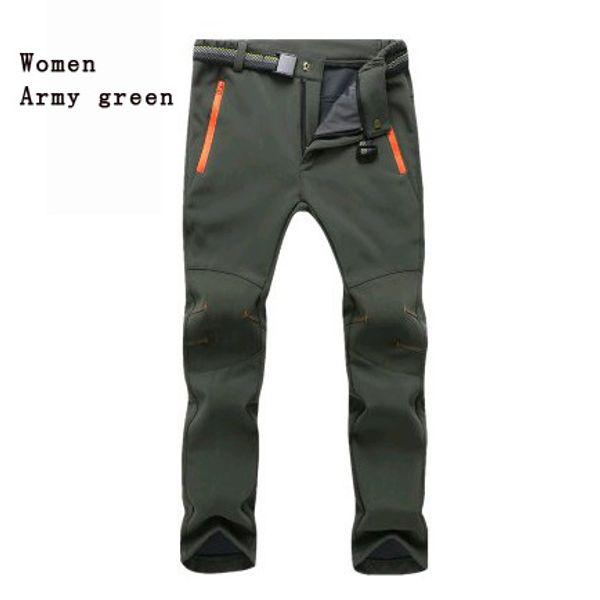 women army green