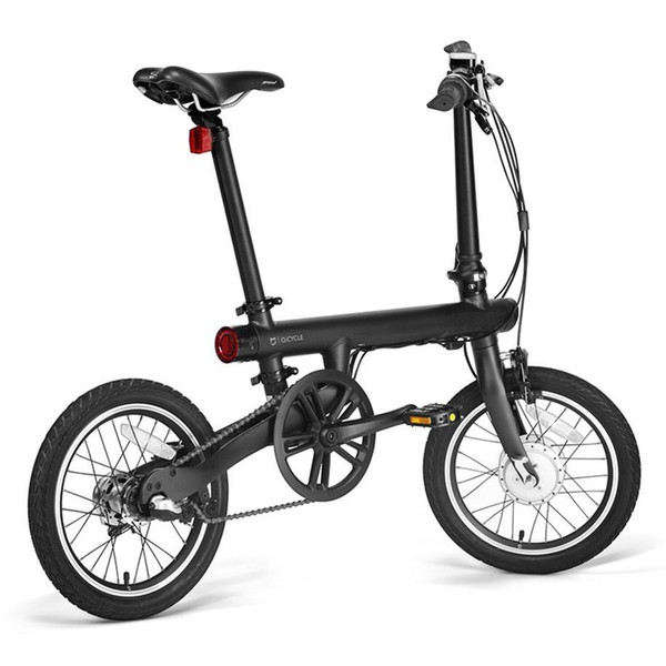 top popular For Xiaomi Smart Electric Power Folding Bike bluetooth 4.0 Smart Bike With Front Rear Light Folding Pedals Support For APP Alum 2020