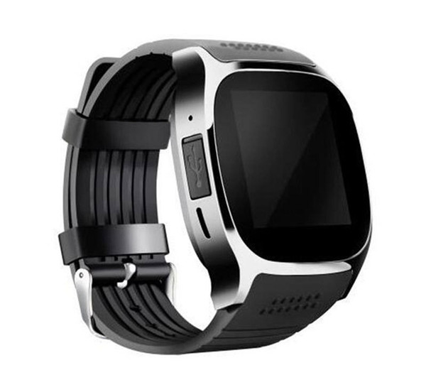 T8 Bluetooth Smart Watch with Camera Facebook Support SIM TF Card Call Sport Smart watche for IOS Android Smart Wearable Technology with box