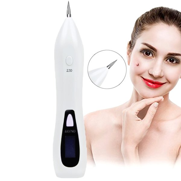 Mole Removal Laser Pen Freckles Dark Spot Nevus Tattoo Remover Portable Usb Charging Beauty Skin Machine With Lcd Display