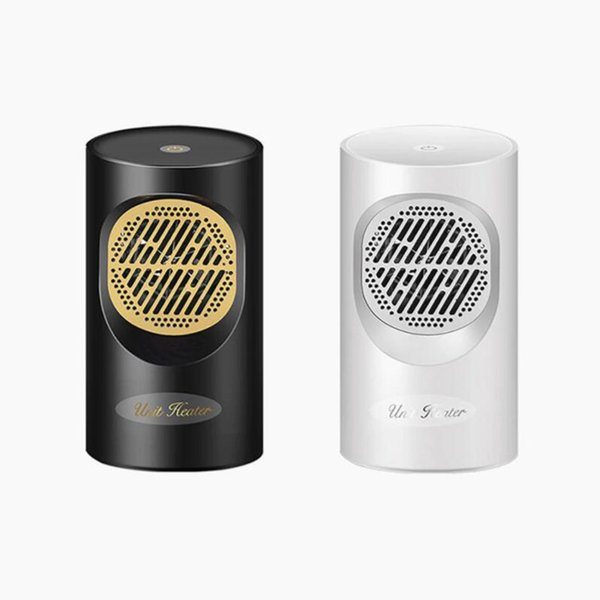 New heater Mini warm air blower 220V 400W Touch Screen Electric Heater Mini Portable Home Personal Space Warmer for Indoor Office Winter