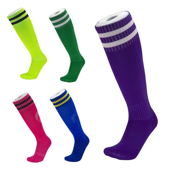 Hot Towel Bottom Elite Football Socks Thicker Breathable Men Wearable Sports Socks High Knee Long Stockings Running Jogging Hiking M116Y