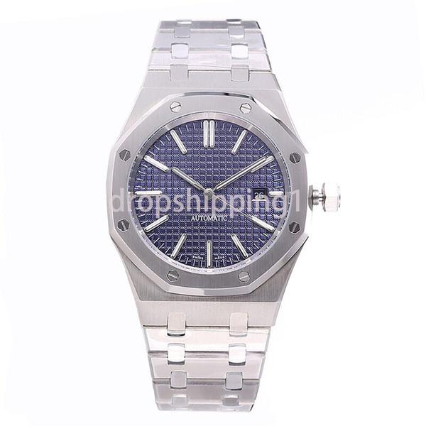 Reloj de lujo 42mm Correa de acero inoxidable completa Reloj de oro automático Reloj luminoso de calidad superior Reloj de pulsera de zafiro orologio di lusso 5ATM impermeable