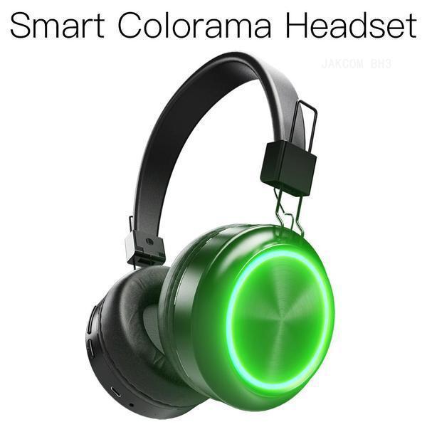 JAKCOM BH3 intelligent Colorama Casque Nouveau Produit Casque écouteurs comme SmartWatch gt08 montre bistec