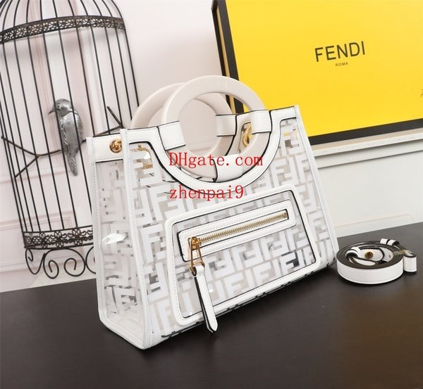 2019 New handbags purses listing women handbags fashion genuine leather high quality Resin material Zipper bag