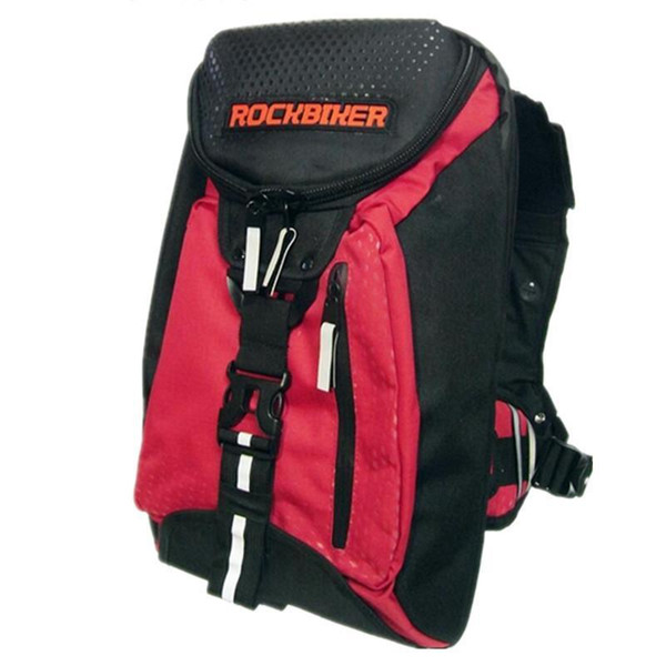 free shipping Waterproof Motorcycle Vest Backpack Shoulder Backpack Helmet Luggage Mochila Moto Tank Bag Knight Rider Motocross Bag