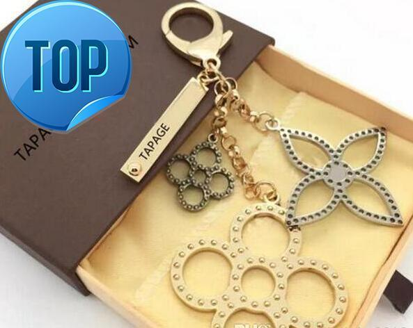 Christmas Gift zhu 2018 perforated Mahina leather TAPAGE BAG CHARM M65090 Key Holder Box comes with free shipping dust bag