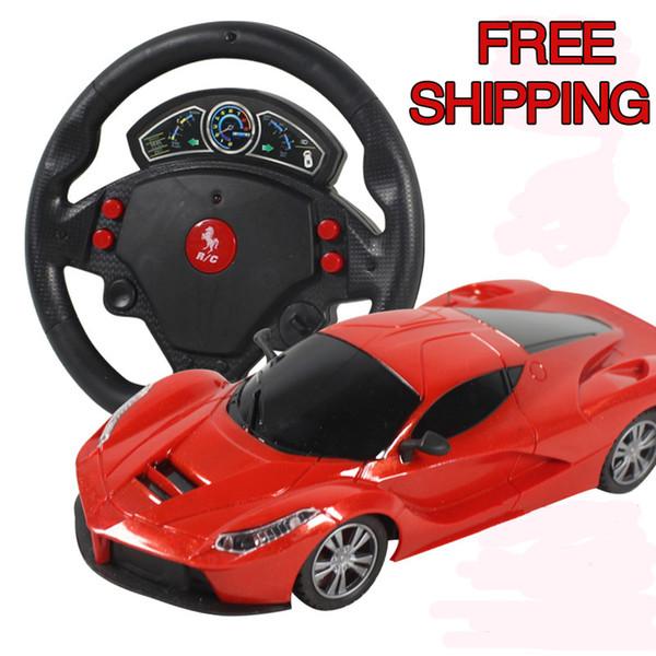 Mini 4 Kanäle Lenkrad Elektrische Spielzeug Rc Auto Schwerkraft Sensing Fernbedienung Autorennen Auto Spielzeug High Speed Modell