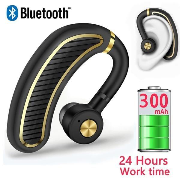 Moda Mic ile Bluetooth Kulaklık Kablosuz Kulaklık 24 Saat Çalışma Süresi Telefon Iphone Xiaomi Huawei için Bluetooth Kulaklık Kulak Pedi