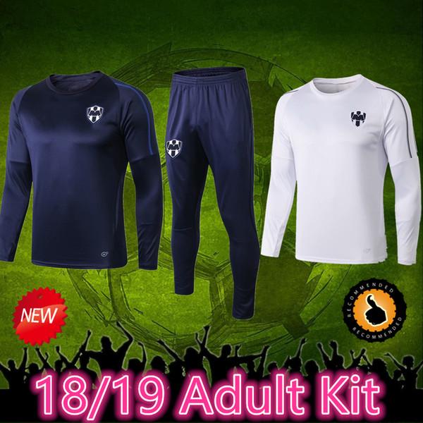 19 Monterrey Trainingsanzug Fußball Trikots D.PABON R.FUNES MORI Fußball Trikot 2019 Monterey Trikot Trainingskleidung Größe kann gemischt werden