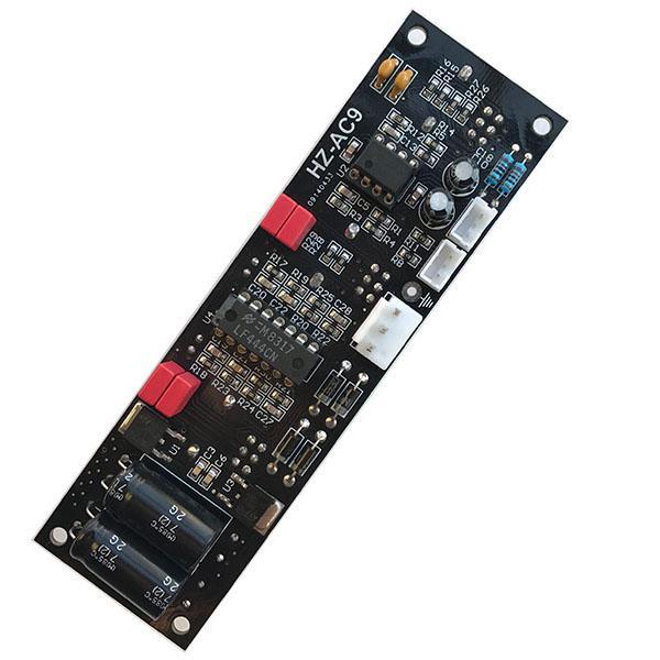 Scheda di preamplificazione dell'amplificatore Hi-Fi 2.0 a 2 canali per pannello frontale dell'amplificatore con controllo del volume regolabile