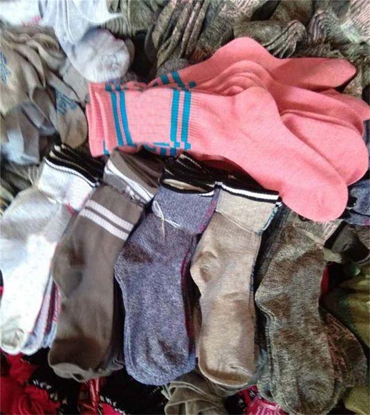 Pink Grey colors Stockings Knee High Socks Fashion campus style Socks Sports Football Media Corta Knee-High Socks Cotton Pink Leg Warmers