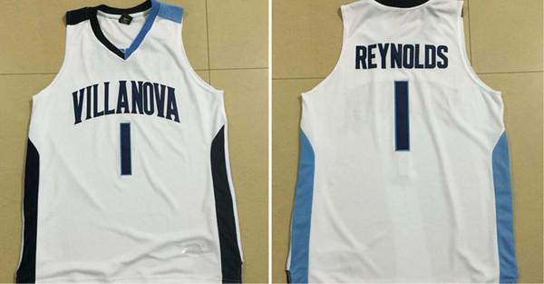 custom made # 1 REYNOLDS VILLANOVA college uomo donna giovanile pullover di pallacanestro taglia S-5XL qualsiasi numero nome