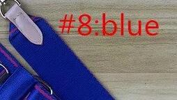 파란색 만 벨트