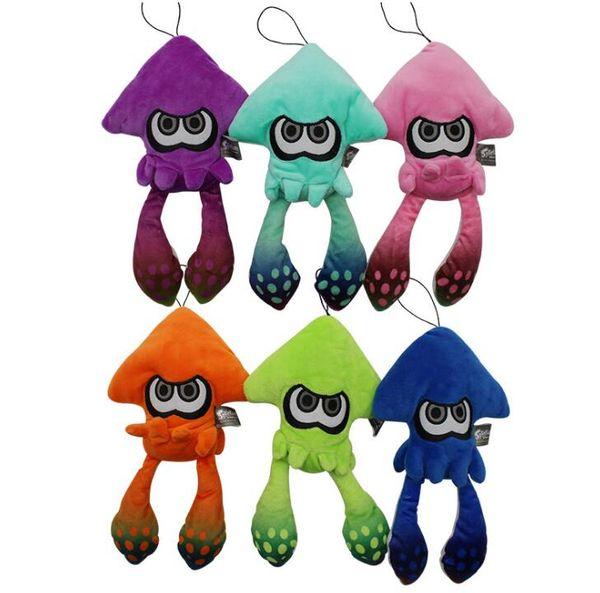 25cm Splatoon Inkling Plush Cartoon Doll Toy Squid Stuffed Lime