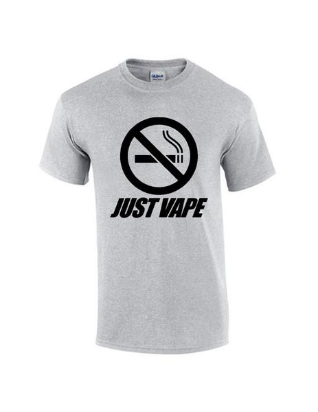 Brand New 2017 inspired men just vape t shirt funny gift Short ,short Sleeve T-Shirt ,Tops Round Neck Tees