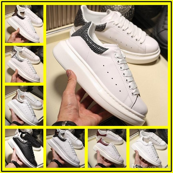 2018 Mens Womens Casual Shoes Summer Breathable Sneaker Chaussures Pour Hommes Leather Paris White Shoes Murty Wedding Shoesoe Sports Tennis