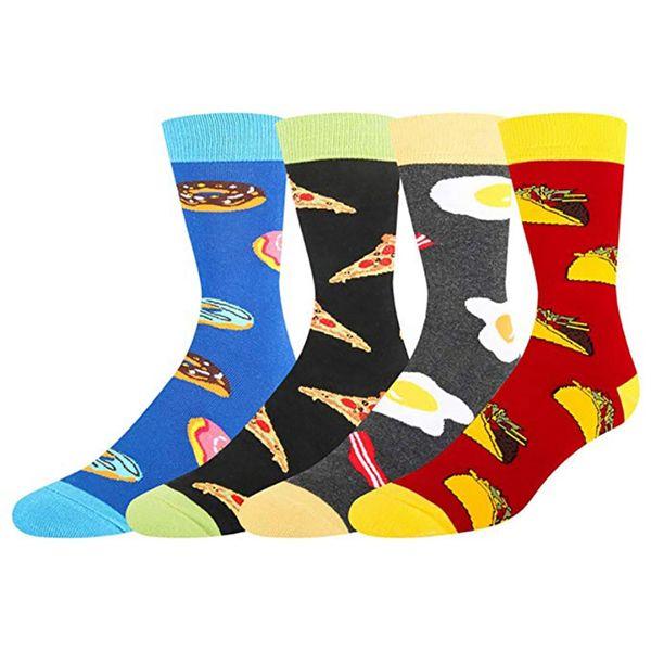 Spandex-Strumpfwaren-Schuhe aus Baumwolle mit Unisex-Druck für Working Holiday Dating-Sportsocken