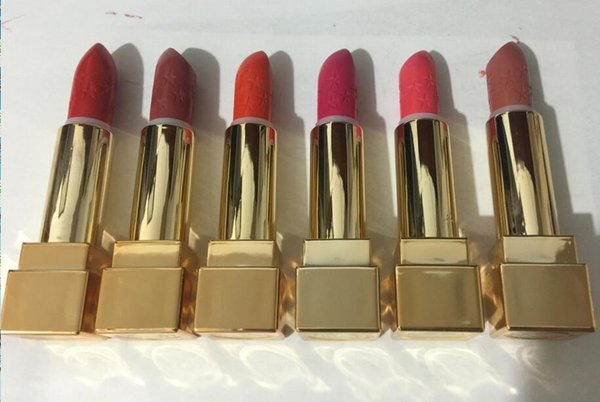 24 PCS FREE SHIPPING HOT good quality Lowest Best-Selling good sale New Makeup MATTE LIPSTICK six different colors