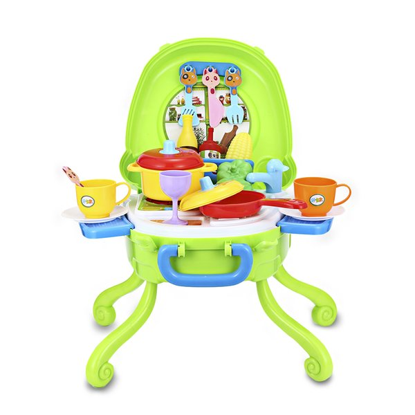 Children Kitchen Pretend Playset Toys Pretend Cooking Wash Vegetables Miniature Play Do House Education Toy Gift For Girl Kid