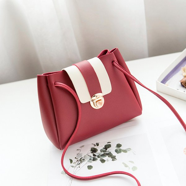 YaHe Luxury Brand Leather Girls Cross Over Shoulder Bags Women Fashion Small Sling Phone Bucket Handbags Pouch For Childrens Bag