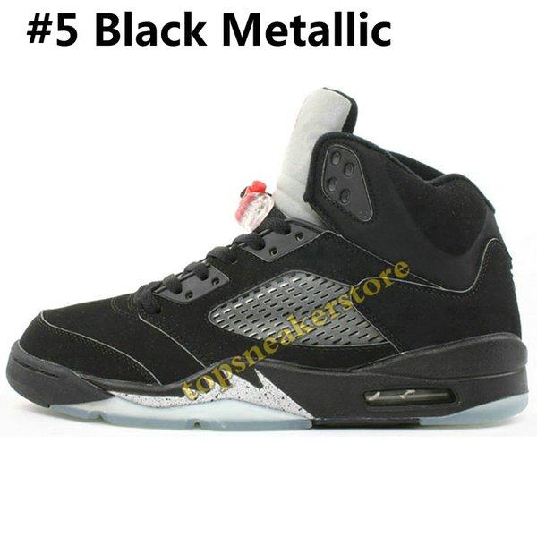 #5 Black Metallic